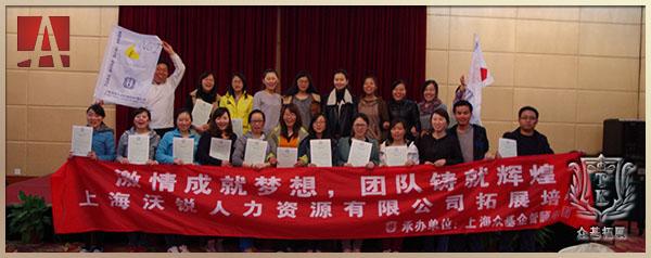 """上海沃锐人力资源有限公司""""激情成就梦想 团队铸就辉煌"""""""
