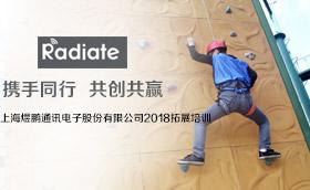 上海煜鹏通讯电子股份有限公司2018拓展培训