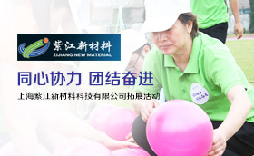 上海紫江新材料科技有限公司拓展活動