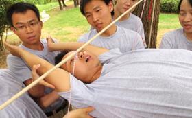上海华测导航技术研发部2013拓展训练活动