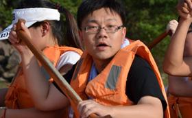 上海保正国际物流有限公司2013年拓展培训活动