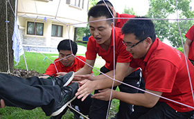 上海牛元户外拓展培训活动上海牛元,户外拓展,拓展训练,上海拓展,靳晓迪案例