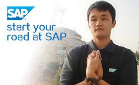 SAP应届大学生定向拓展培训活动