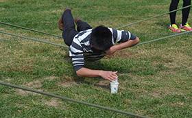 精锐教育2010年暑假拓展训练营精锐教育,拓展培训活动,拓展培训,北京大学,周琳娜案例