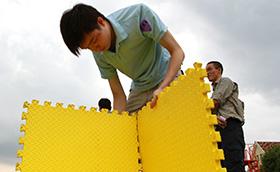 上海绿妆雅商贸2010年越野识途上海绿妆雅商贸,拓展培训活动,拓展培训,越野识途,周琳娜案例