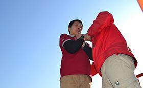 上海出版印刷高等专科学校2010年拓展上海出版印刷高等专科学校,拓展训练活动,拓展训练,拓展活动,韦红光案例