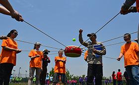 中国移动上海分公司2010年佘山越野识途中国移动,越野识图,拓展训练,拓展训练活动,周琳娜案例