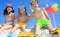 沙滩城堡海滨拓展夏令营