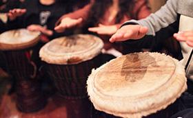 拓展项目非洲鼓:打动团队震撼未来