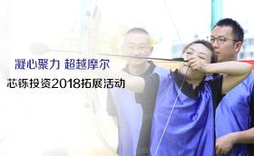 上海芯铄投资管理有限公司2018拓展活动双解码、坦克大战、荆棘取水,金融,幸荡