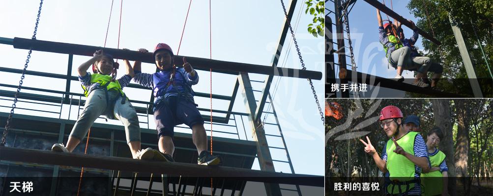 上海蘭衛銷售部2018拓展活動|拓展基地,拓展培訓,拓展活動,拓展培訓活動,挑戰五分鐘,無敵風火輪,天梯。
