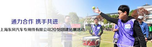 上海东风汽车专用件有限公司2018年团建拓展活动