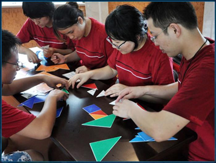 拓展训练项目——七巧板 拓展训练,拓展续联项目,七巧板