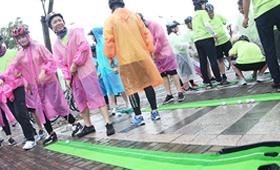 拓展训练在雨天应该注意什么?