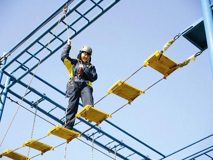 拓展训练项目——缅甸桥|拓展训练