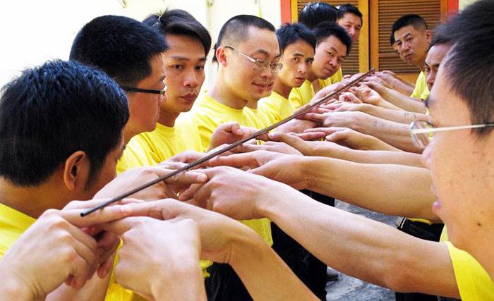 拓展训练项目——齐眉杆|拓展训练,拓展