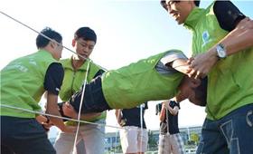 拓展训练项目——穿越电网