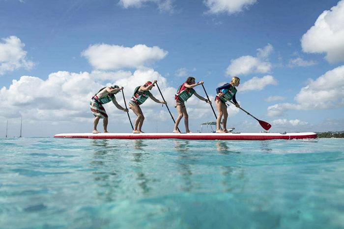 桨板新玩法你知道吗?|拓展公司,桨板
