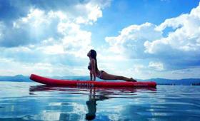 女生一定不要错过的水上桨板瑜伽!