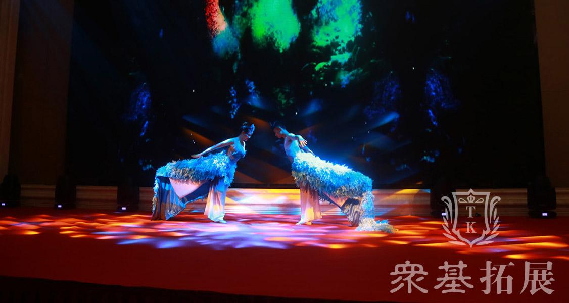 雀之灵的舞蹈以前是杨丽萍的专属,但是这次晚会也请来了演员进行同样的舞蹈,一睹雀之灵的风采。